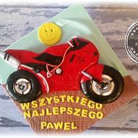 motorcycle cake :-)