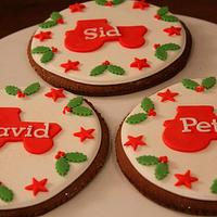 Christmas Cookies for farming lovers