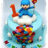 "Hola! It's Pocoyo ""Up, Up & Away With Balloons!"""
