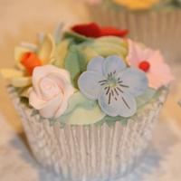 Flower Bouquet Cupcakes by Amanda's Little Cake Boutique
