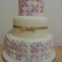 Swewet Heart Cake