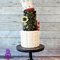 GAULTIER Inspired for AVANT GARDE Cake Collaboration
