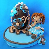 Easter Cake by Le Cupcakes della Marina