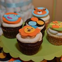 Fisher Price Jungle Baby Shower by Karen