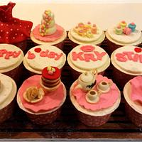 High tea Birthday cupcakes