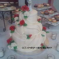 60th wedding anniversary cake by CC's Creative Cakes and more...