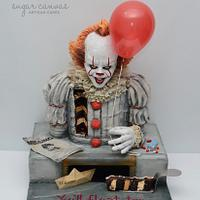 Pennywise the dancing clown cake!