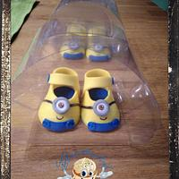 Minion Style Baby Shoes