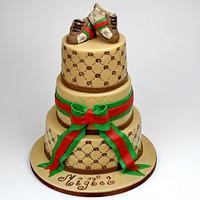 Gucci Birthday Cake, London