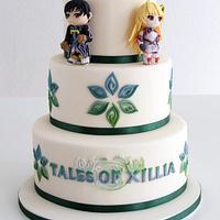 Tales of Xillia cake