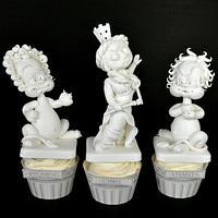 Cupcakes Cybele, Atalanta and Hippomenes