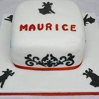 Ballroom cake #2