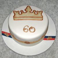 Jubilee Cake - Red, White & Blue
