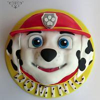 Paw Patrol Cake - Marshall