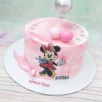 Miinie Mouse cake