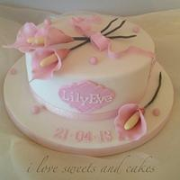 Lily's Christening Cake / Cupcakes