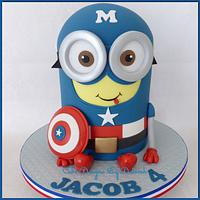 Captain America Minion