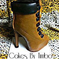 High Heel Boot! by Timbo Sullivan