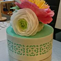 Birthday and send off cake for Colleen by Donna Dolendo