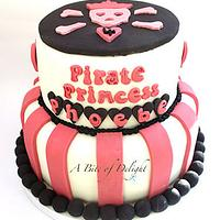 Pirate Princess Birthday Cake