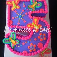 #5 Butterfly themed cake