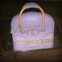 Gucci Purse Cake