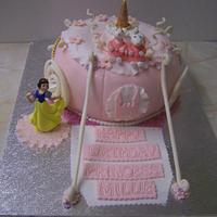 princess carridge cake
