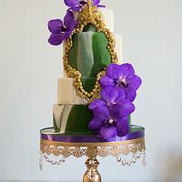 Vanda Orchids cake
