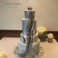 Slate Geode Wedding