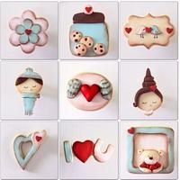 Cute Love Cookies