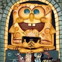 Spongebob cake magazine Cake Con International