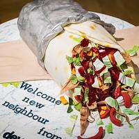 Kebab cake