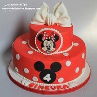 Minnie cake by le delizie di ve