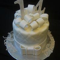 14th Anniversary cake