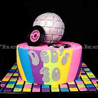 70's Disco Cake by Kate