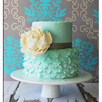 Bloom Ruffle Cake