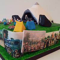 Glastonbury Cake by Sarah Poole