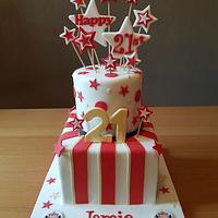 Sunderland Football Cake