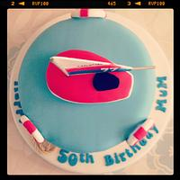 Sailing Boat birthday cake