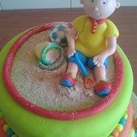 Caillou cake (Ruca) by Vera Santos
