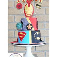 Superhereo cake