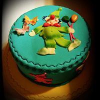 Fondant Cake for kids