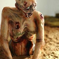 Mermaid Tales (Zombie Mermaid) Cake