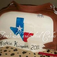 purse cake by Taras Handcrafted Cakes