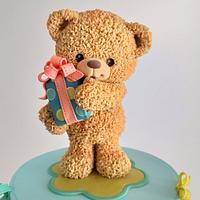 Fluffy teddy bear