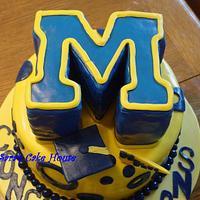 University of Michigan Cake by Sara's Cake House
