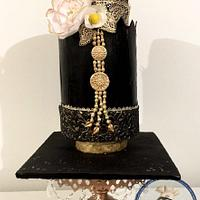 Traditional Javanese dress cake