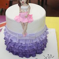 Baby Shower Birthday Cake