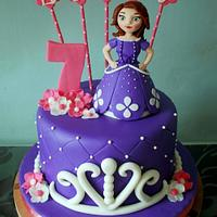 Emory's Sofia the First Cake