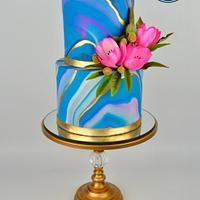 Neon Tulips